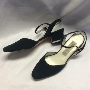 Madeline Stuart blue heels